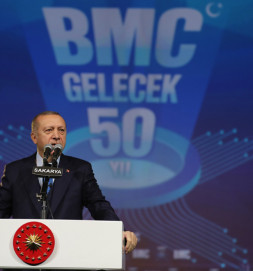 President Erdoğan Attended the Groundbreaking Ceremony of the Leading Automotive Manufacturing Company BMC's Sakarya Karasu Production and Technology Facility
