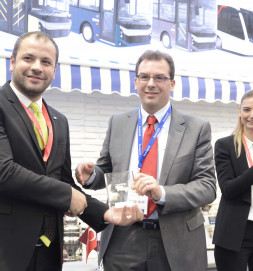 BMC Won the Best Design Award of Busworld Awards 2017