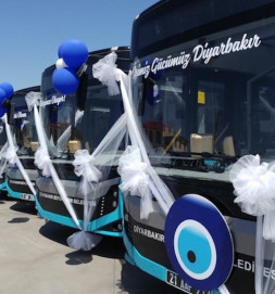 BMC Performed a Ceremony for Delivery of Diyarbakır Buses